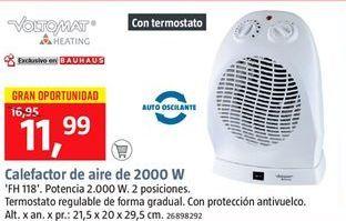 Oferta de Calefactor por 11.99€
