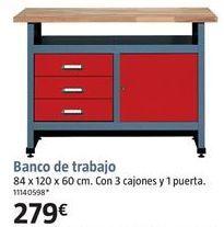 Oferta de Banco de trabajo por 279€
