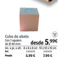 Oferta de Cubos apilables por 5.99€