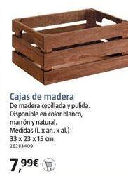 Oferta de Cajas por 7.99€