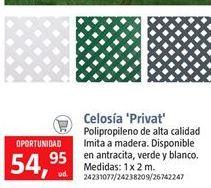 Oferta de Celosía por 54.95€