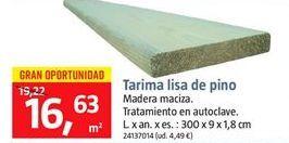 Oferta de Tarima por 16.63€