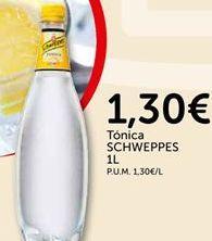 Oferta de Tónica Schweppes por 1.3€
