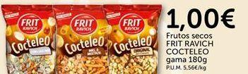 Oferta de Frutos secos FRIT RAVICH COCTELEO por 1€