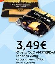 Oferta de Queso OLD AMSTERDAM  por 3.49€