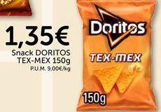 Oferta de Snack DORITOS Tex-Mex  por 1.35€