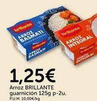 Oferta de Arroz BRILLANTE guarnición por 1.25€