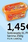 Oferta de Sobrasada EL POZO por 1.45€