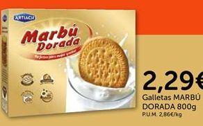 Oferta de Galletas Marbú Dorada por 2.29€