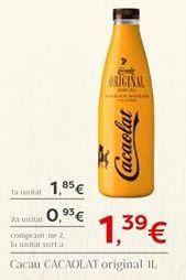 Oferta de Cacau CACAOLAT original por 1.39€