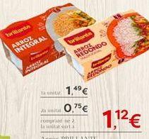 Oferta de Arroz BRILLANTE por 1.49€