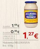 Oferta de Maionesa HELLMANN'S por 1.69€