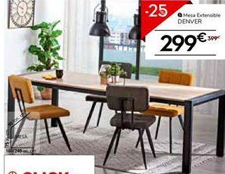 Oferta de Mesa extensible por 299.25€