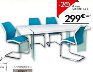 Oferta de Mesa de comedor por 303.2€