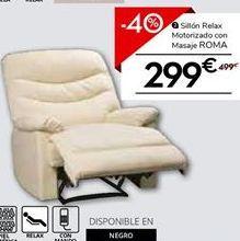 Oferta de Sillón relax por 299.4€