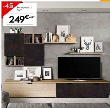Oferta de Mueble tv por 257.95€