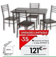 Oferta de Mesa de comedor por 129.35€