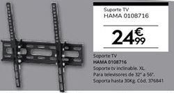Oferta de Soporte para tv por 24.99€