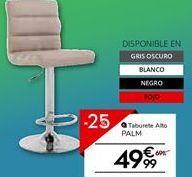 Oferta de Taburete por 52.49€