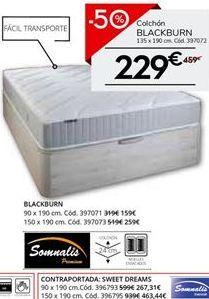 Oferta de Colchón enrollado somnalis por 229.5€