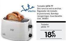 Oferta de Tostadora Jata por 18.99€