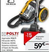 Oferta de Aspirador Polti por 59.49€