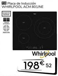 Oferta de Placa de inducción Whirlpool por 198€