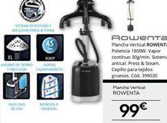 Oferta de Plancha Rowenta por 99€