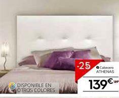 Oferta de Cabecero por 141.75€