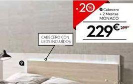 Oferta de Cabecero por 239.2€