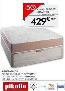 Oferta de Colchones Pikolin por 429.5€