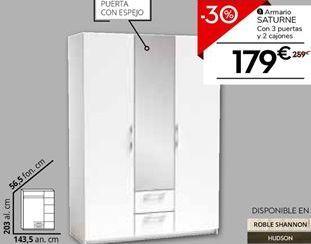 Oferta de Armarios por 181.3€