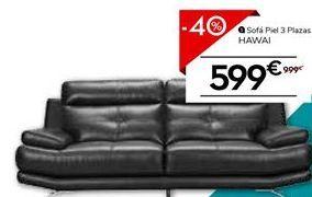 Oferta de Sofá de piel por 599.4€