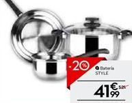 Oferta de Batería de cocina por 42.39€