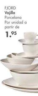 Oferta de Vajilla por 1.95€