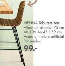 Oferta de Taburete de bar por 99€