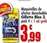 Oferta de Maquinilla desechable Gillette por 3.99€