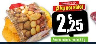 Oferta de Patatas lavadas  por 2.25€