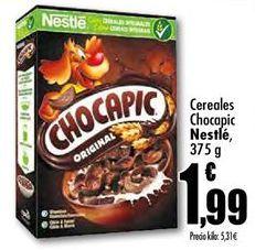 Oferta de Cereales Chocapic Nestlé por 1.99€