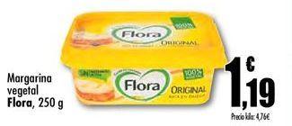 Oferta de Margarina vegetal Flora por 1.19€