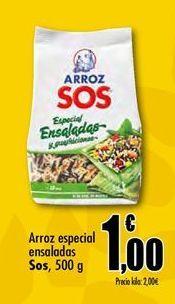 Oferta de Arroz Sos por 1€
