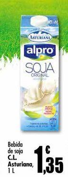 Oferta de Bebida de soja Central Lechera Asturiana por 1.35€