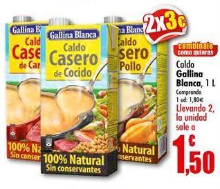 Oferta de Caldo Gallina Blanca por 1.5€