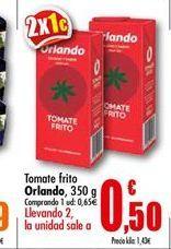 Oferta de Tomate frito Orlando por 0.5€