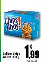 Oferta de Galletas Chips Ahoy por 1.99€
