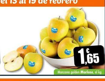 Oferta de Manzana golden Marlene por 1.65€