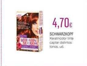 Oferta de Tinte de pelo Schwarzkopf por 4.7€