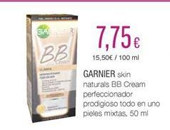 Oferta de Cremas Garnier por 7.75€