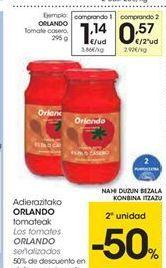 Oferta de Los tomates Orlando señalizados por 1.14€