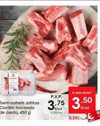 Oferta de Costilla troceada de cerdo por 3.75€